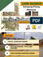 Land Sharing Kampung Pisang Kota Makssar