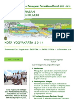 Penataan Kawasan dan Penanganan Kumuh Kota Yogyakarta