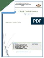 Audit Qualité Produit
