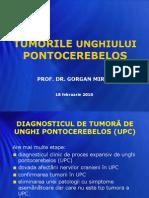 Tumorle unghiului pontocerebelos