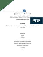 Skripsi Universitas Paramadina Jakarta Fitriyani Kepemimpinan Perempuan Dalam Islam Studi Pemikiran m. Quraish Shihab