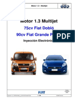 Fiat Punto 1.3 Multijet Inyeccion Electronica