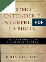 Como Entender e Interpretar La Biblia