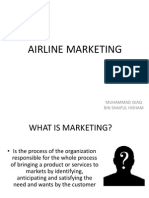 Mock Teaching Airline Marketing