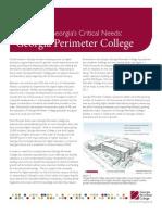 Georgia Perimeter College expansion plans Dunwoody Campus