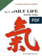 [Koichi Tohei] Ki in Daily Life