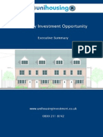 Unihousing 8% fixed rate bond.  Executive Summary