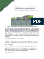 Chapple, R. M. 2014 Update on Drumclay Crannog Report - Response From Prof. Gabriel Cooney. Blogspot Post