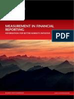 Measurement in Financial Reporting