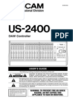 Tascam Us2400 Manual