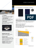 Ds x21 Series 335 345 Residential Solar Panels Datasheet