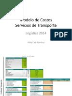 10 - Modelo Costos Servicios de Transporte