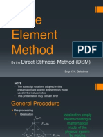 Finite Element Method-The Direct Stiffness Method