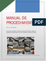 Manual de Procedimientos Del Departamento de Bordado