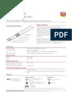 heat trace ( cable de resistencia para calefaccion)