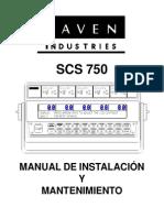 SCS 750 Manual de Instalación y Mantenimiento - Manual - Spanish.pdf