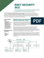 Data Sheet Kaspersky Security for Mobile Sp