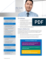 Enterprise Mobility Suite Datasheet