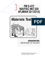 Army - Fm5-472 - Material Testing