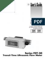 Transit Time Ultrasonic Flow Meter M4504