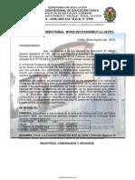 Resolución Inst., documentos muy utiles