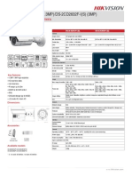 DS 2CD2612F I 1.3mp External Bullet Datasheet