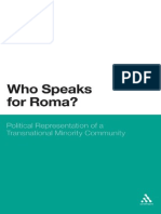 Aidan McGarry-Who Speaks for Roma__ Political Representation of a Transnational Minority Community-Continuum (2010)