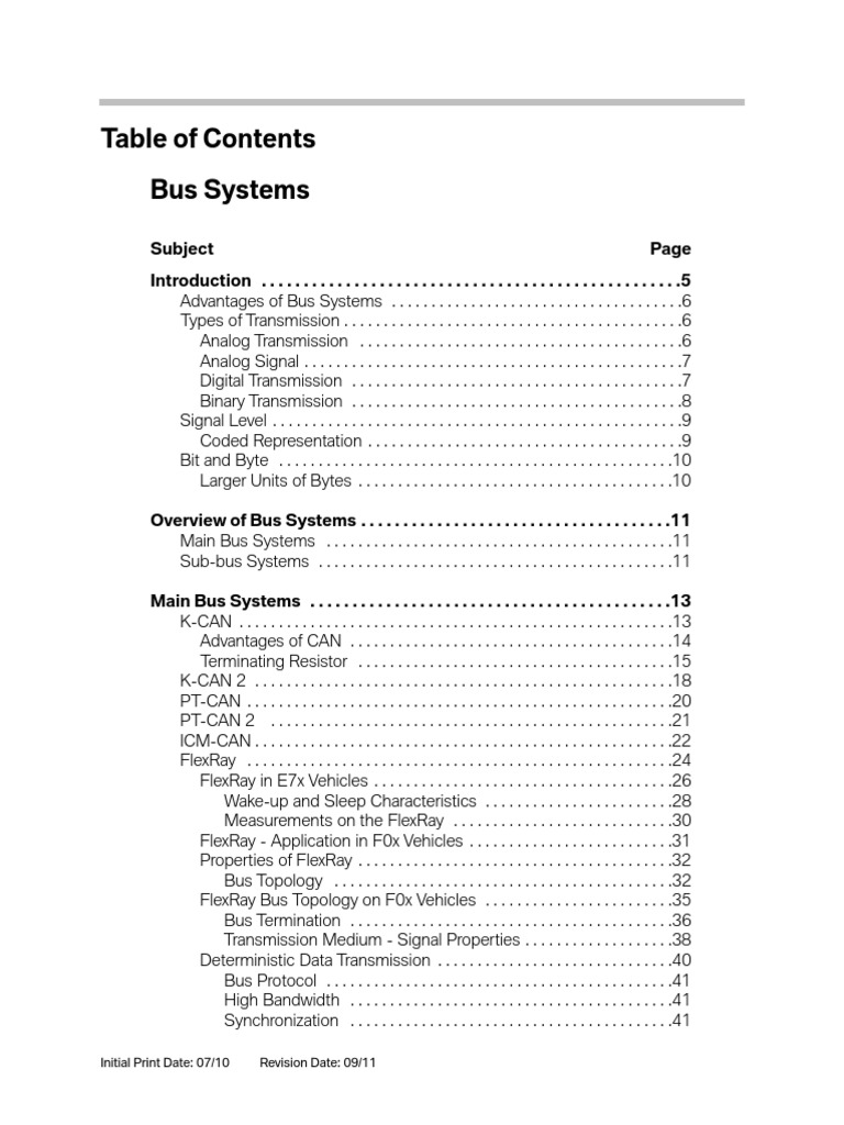 Bmw Bus Systemspdf Network Topology Code Wiring Diagram System 12 0