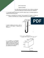 Primer Examen Parcial Hidraulica