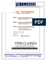 Free Solved Paper New Pattern Ugc Net Management