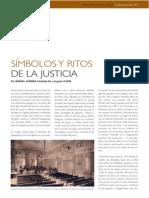 Símbolos y Ritos de La Justicia