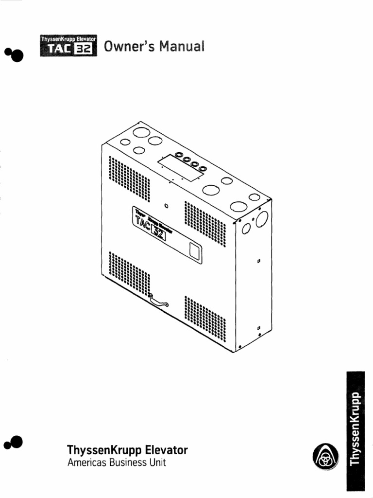 142423 Hydraulic Elevator Thyssenkrupp Elevators