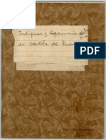 Indígenas y Toponimia Autóctona de Córdoba Del Tucumán (1955- Cuaderno m.s.)