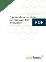 OpenBravo eBook Top Trends Erp Evaluation En