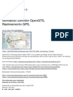 Montando Servidor OpenGTS, Rastreamento GPS. | Powered Linux :-)