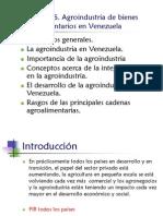 Obj 6 La Agroindustria en Venezuela