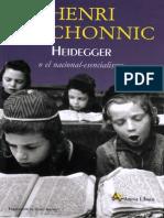 Meschonnic - Heidegger o El Nacional-Esencialismo