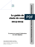 Guide de programme en electronique industrielle