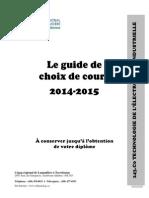 Guide de programme en electronique industrielle
