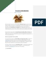 3 Libros en Francés Para Principiantes