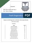 Fault Diagnostics - Report-2