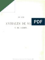 Animales de Salón 1859