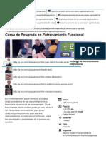 Curso de Posgrado en Entrenamiento Funcional - Entrenamiento de La Velocidad y Agilidad _ G-SE