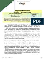 Entrenamiento Funcional_ Revisión y Replanteamientos
