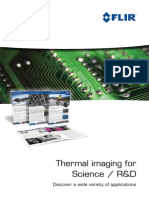 Thermal imaging for Science / R&D