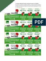 Cupones PDF 3D