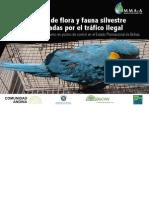 Especies de flora y fauna silvestre amenazadas por el tráfico ilegal BOLIVIA