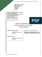 Gordon v. Thread Pit - Thread Pit answer and counterclaim.pdf