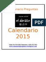 Calendario Preguntas 2015.doc