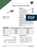 TSOP38238 - datasheet